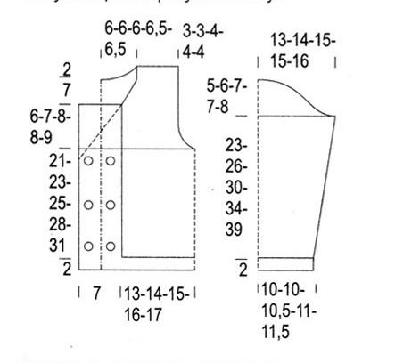 Свитера на девочек рост 152 вязание 2